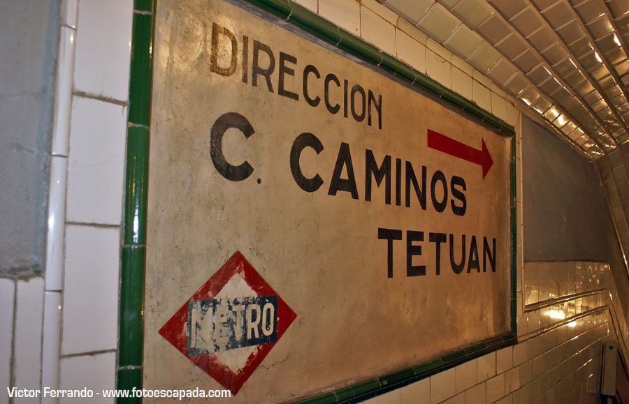 Estación Fantasma del Metro Madrid