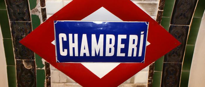 Estación de Chamberí del Metro de Madrid