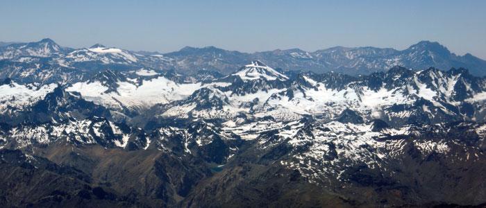 Sobrevolando Chile