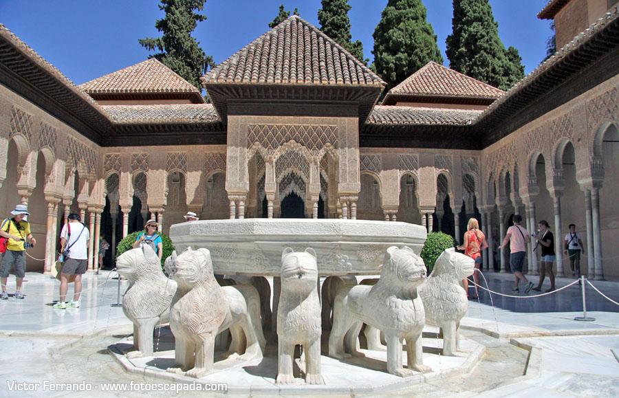 Patio de los Leones de la Alhambra