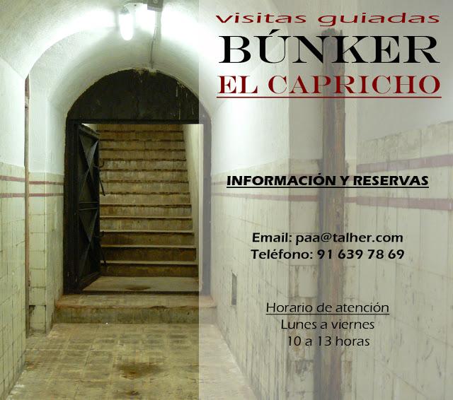Visitas Guiadas Búnker Capricho