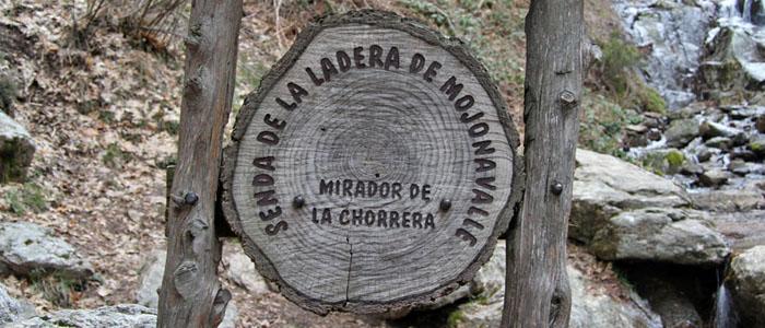 Arroyo del Sestil del Maíllo y Chorrera de Mojonavalle en el Puerto de Canencia