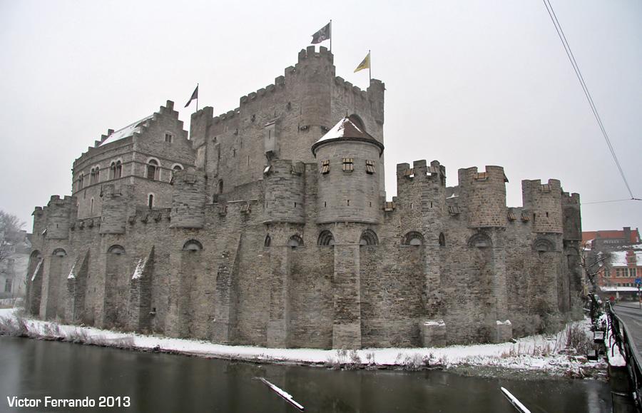 Castillo de Gravensteen - Gante - Bélgica