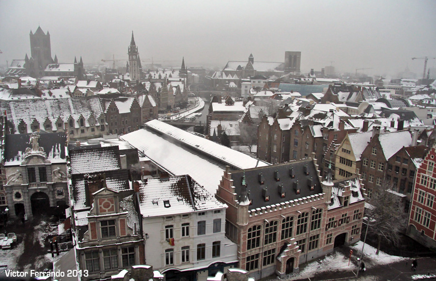 Castillo de los Condes de Flandes - Gante - Bélgica