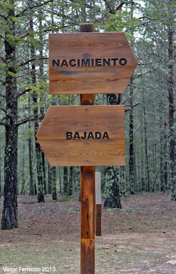 Nacimiento del Rio Cuervo - Cuenca - Carteles