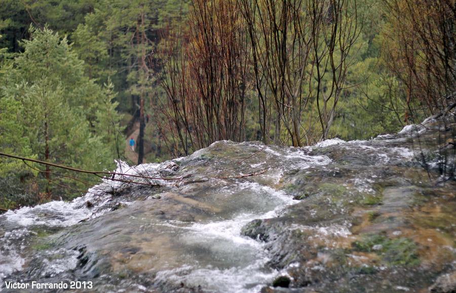 Nacimiento del Rio Cuervo - Cuenca - Cascada Chorrera