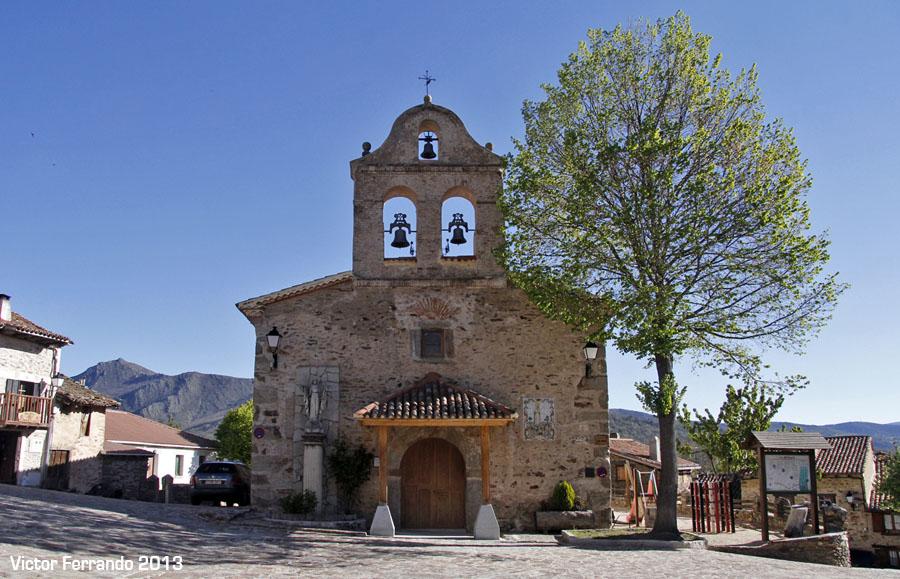 Sierra Rincon BlogTrip - Iglesia de La Hiruela