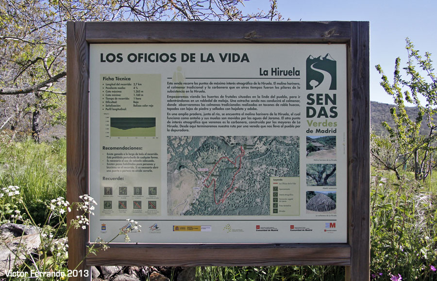 Sierra Rincon BlogTrip - Paseando por La Hiruela - Los Oficios de la vida