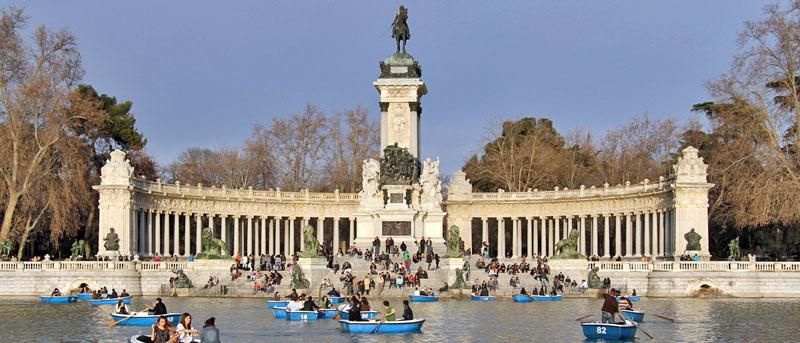 Parque del retiro al atardecer algo imprescindible que for Parque del retiro madrid