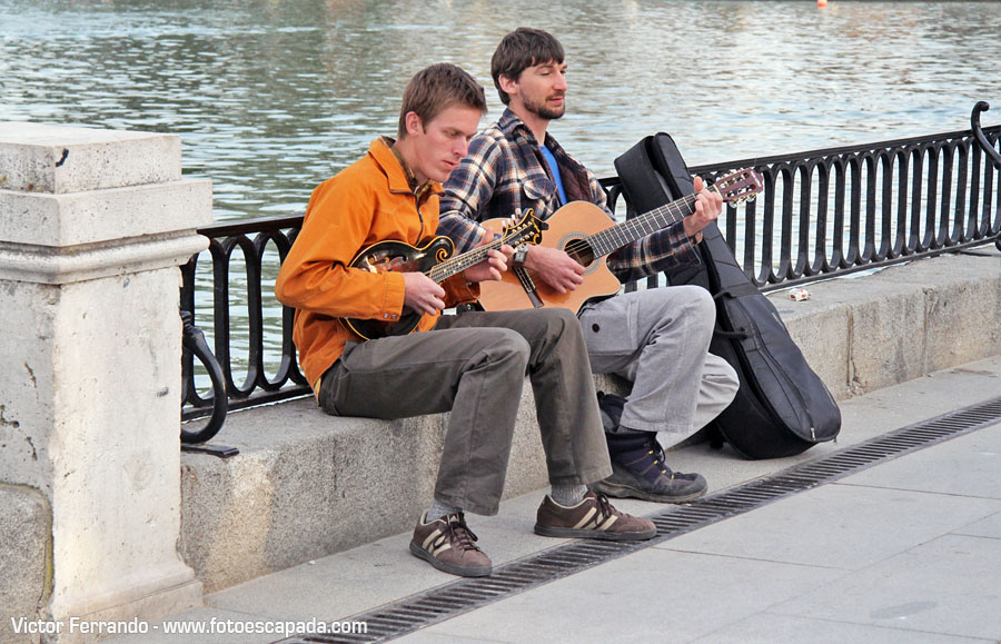 Músicos del Retiro Madrid