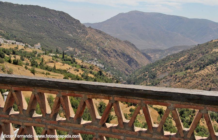 Vistas desde los miradores de Capileira