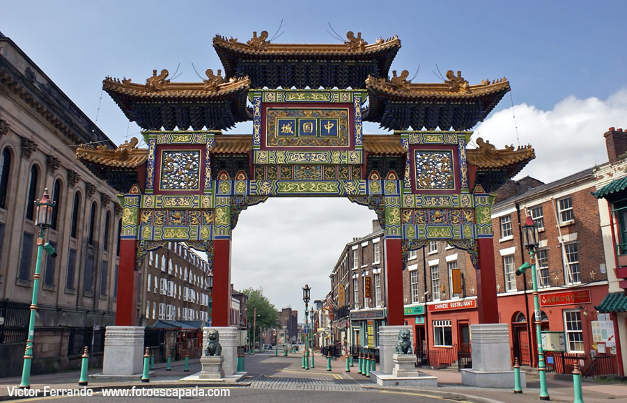 Duke Street China Town Liverpool