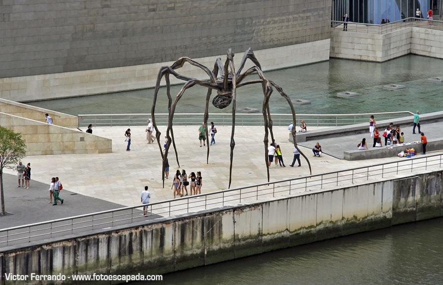Araña del Guggenheim Bilbao