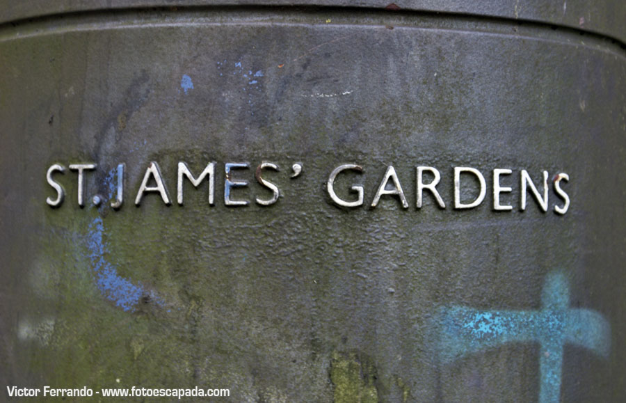 St James Garden Liverpool