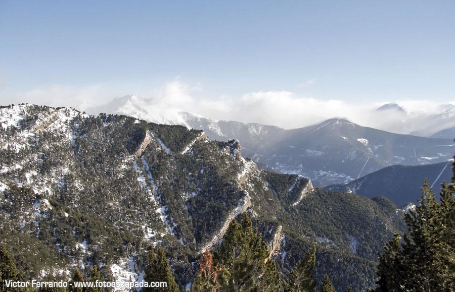 Carretera del Coll de la Botella Andorra