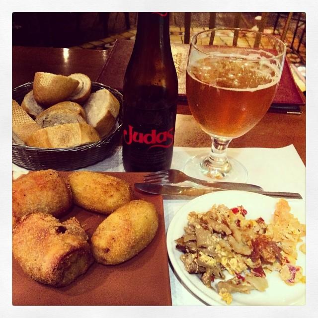 Comiendo en Salamanca