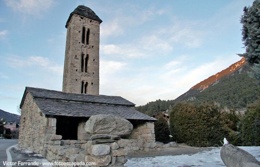 Ermita de Engolasters en Andorra