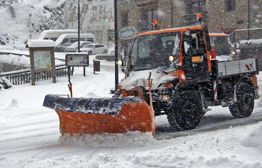 Decían que el sábado iba nevar en Andorra