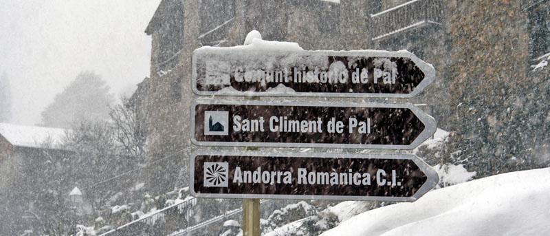 Decían que el sábado iba a nevar en Andorra