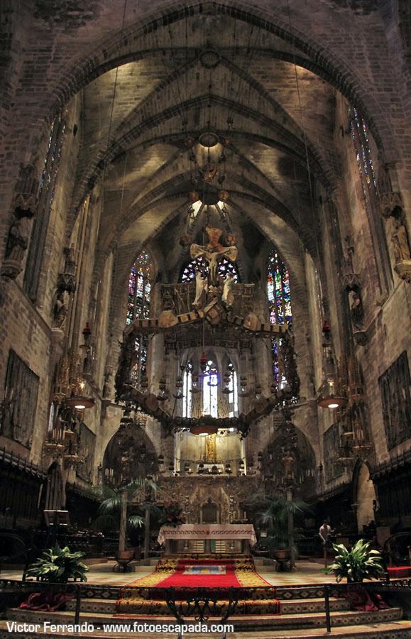 Altar de la Catedral de Palma de Mallorca
