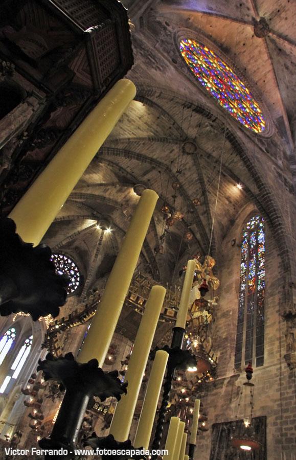 Baldaquino de la Catedral de Palma de Mallorca
