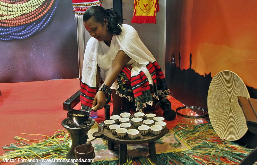 Café Etiopía en Fitur 2014
