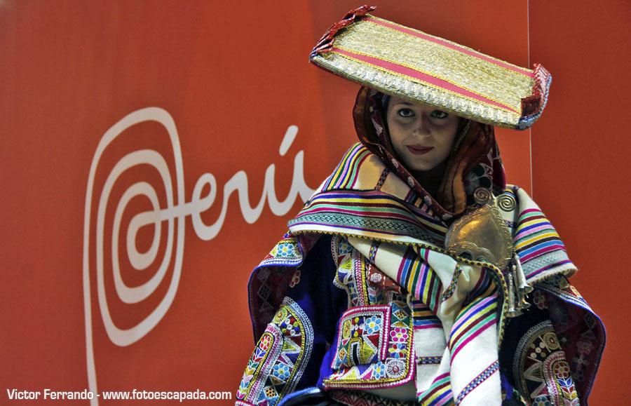 Chica Peruana en Fitur 2014