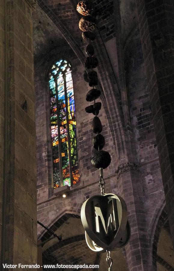 Decoración de la Catedral de Palma de Mallorca
