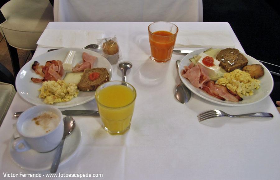 Desayuno del Hotel Market Barcelona