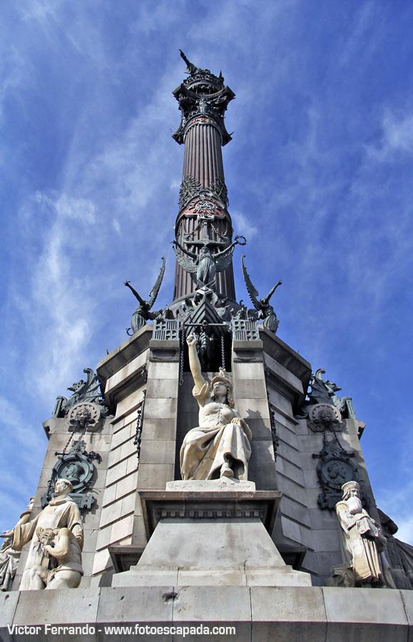 Estatua Colón Barcelona