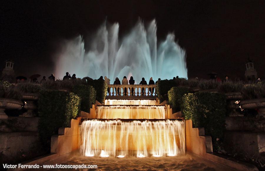 Fuente Magica Montjuic Barcelona