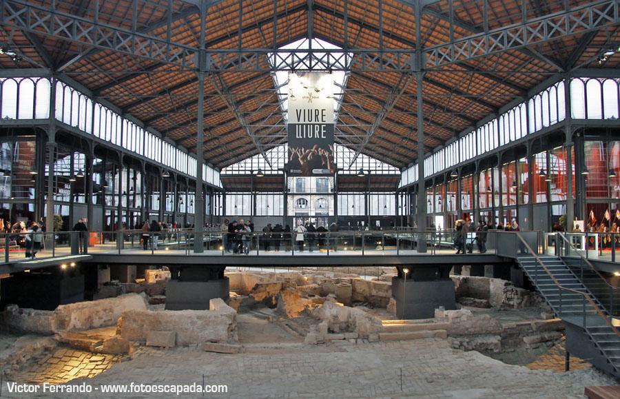 Mercado de El Born Barcelona