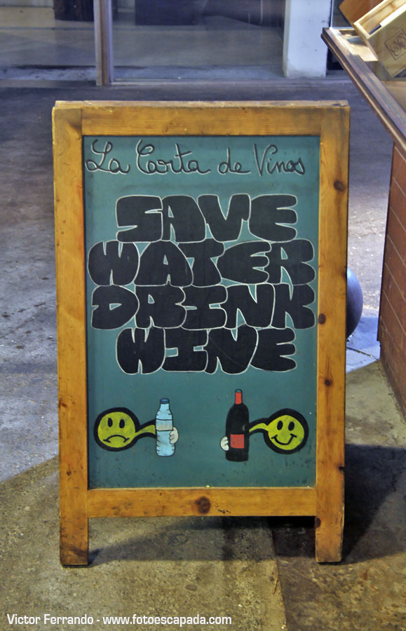 Save Water Drink Beer Barcelona