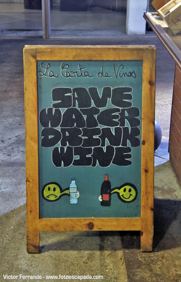 Save Water Drink Beer Barcelona