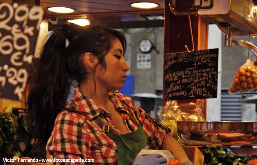 Dependientas de la Boquería Barcelona