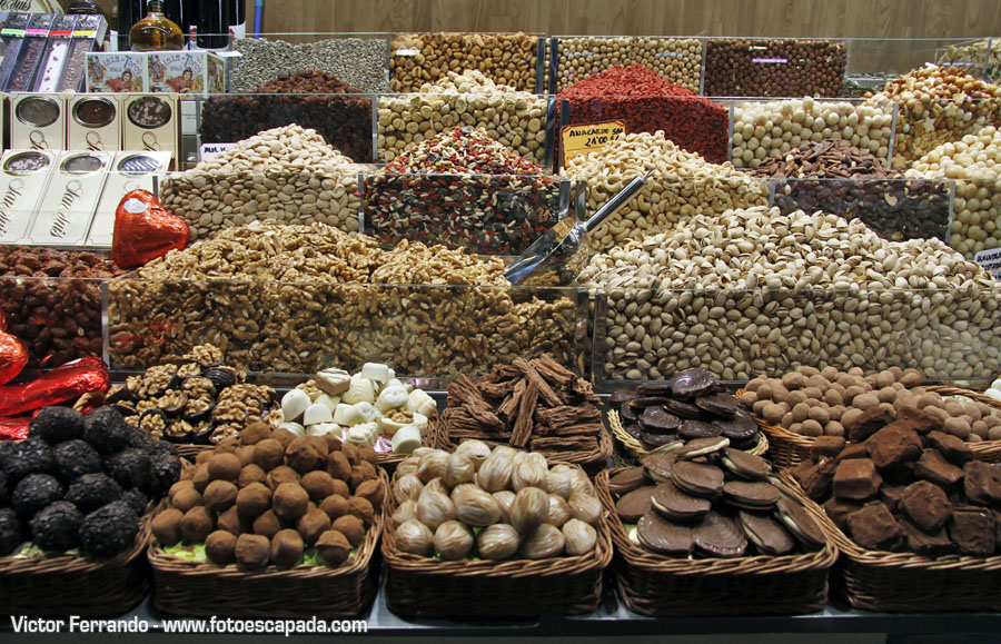Mercado de la Boquería Barcelona