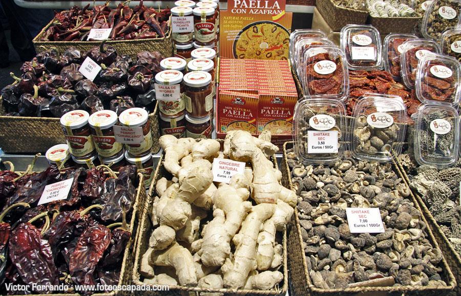 Frutas en la Boquería Barcelona