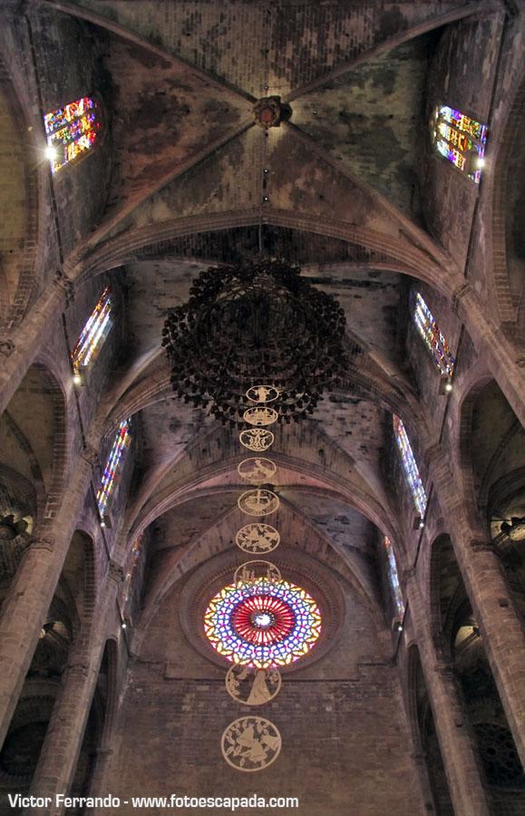 Paredes de la Catedral de Palma de Mallorca