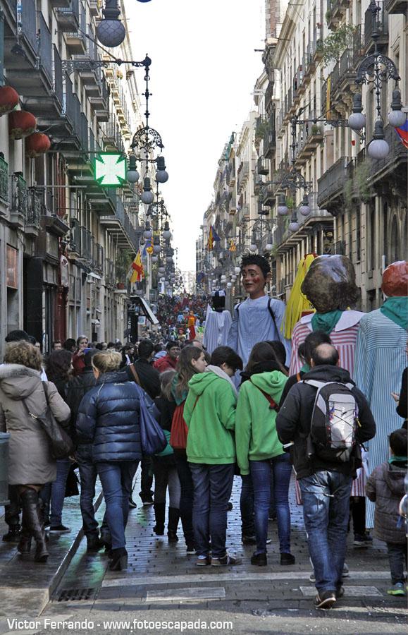 Paseando por la Rambla Barcelona