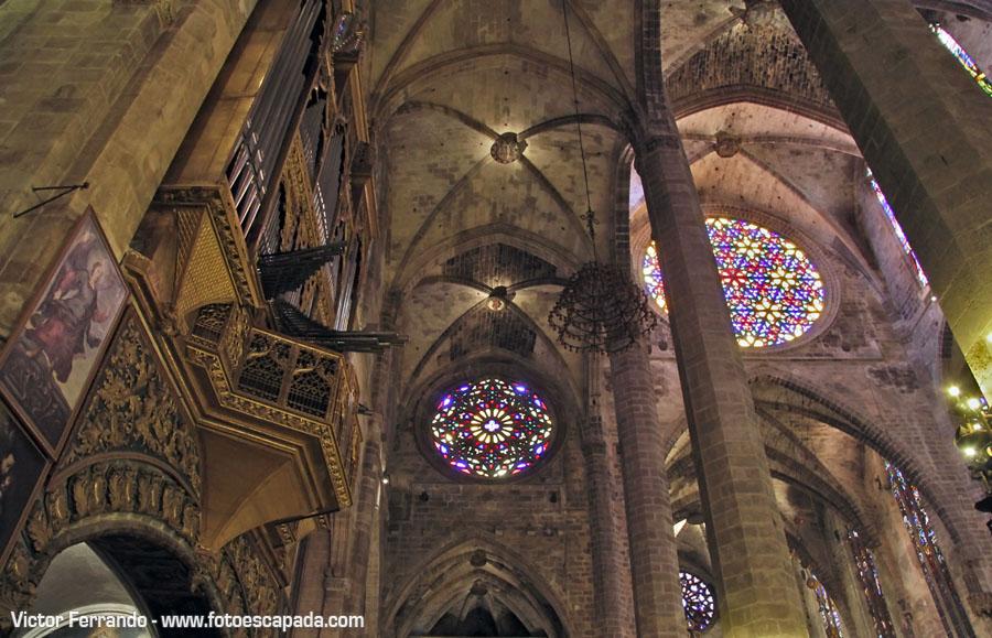 Rosetón de la Catedral de Palma de Mallorca