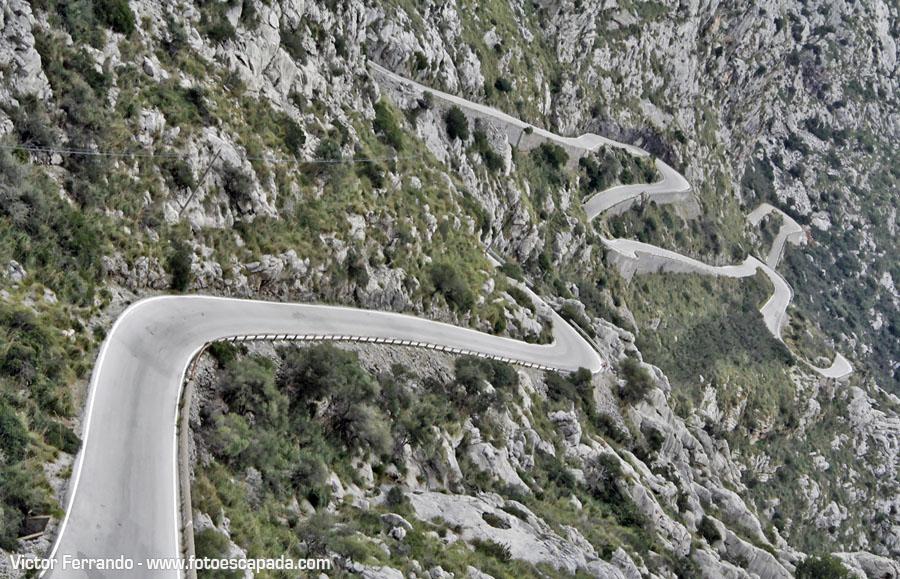 Carretera a Sa Calobra Mallorca