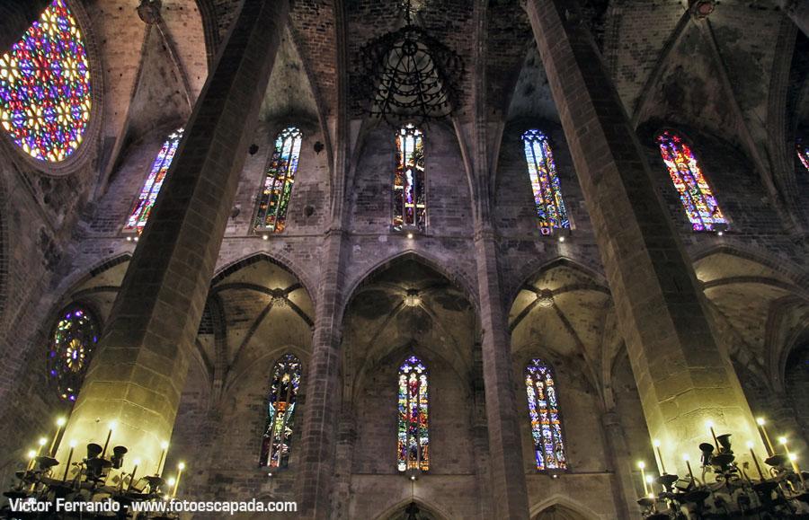Vidrieras de la Catedral de Palma de Mallorca