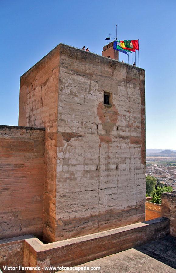 Torres de la Alcazaba de la Alhambra