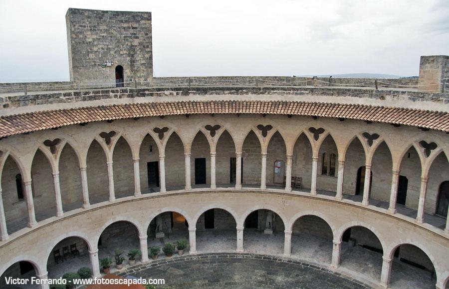 Castillo de Bellver en Palma de Mallorca