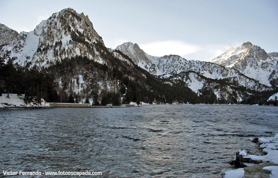 Excursión invernal al Lago San Mauricio
