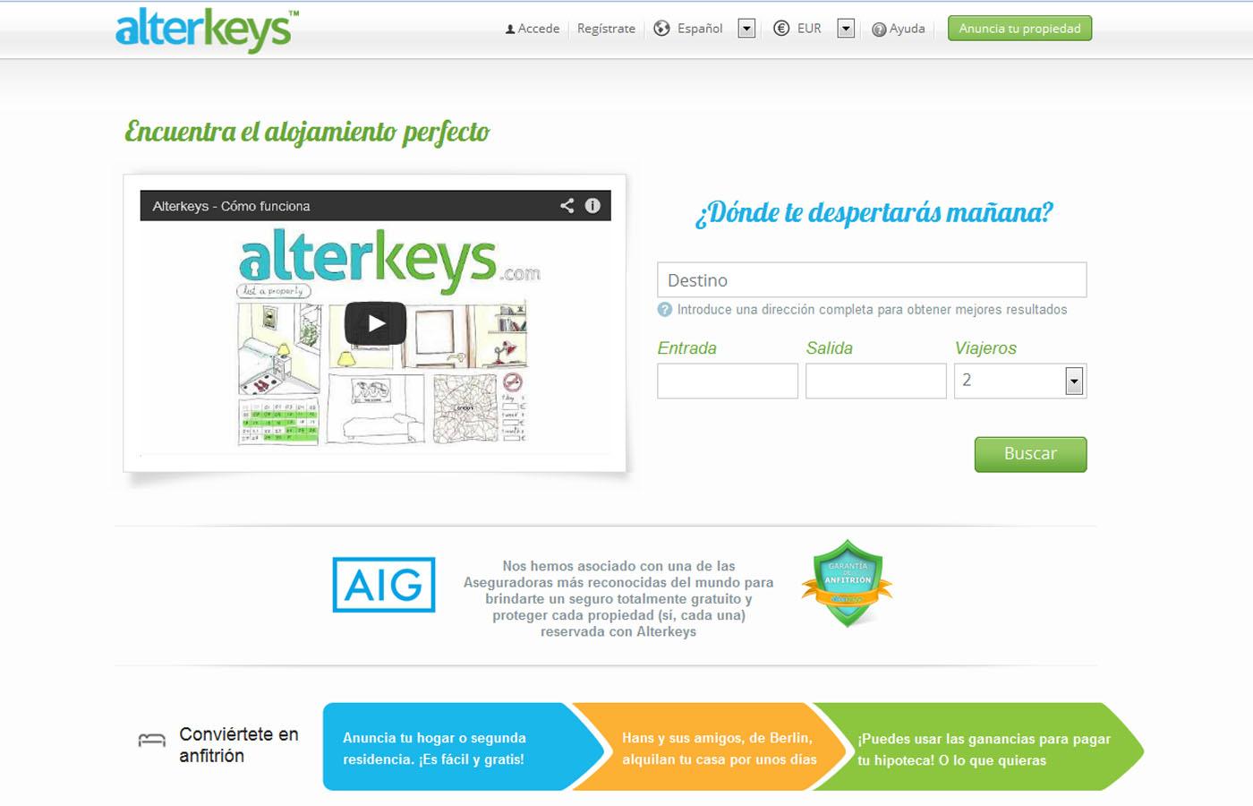 Web Alterkeys