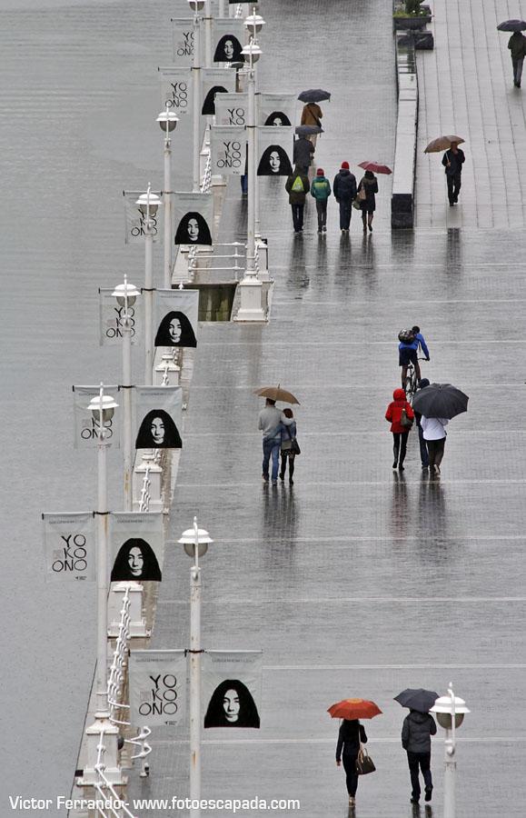 Fotografiando bajo la lluvia en Bilbao 7