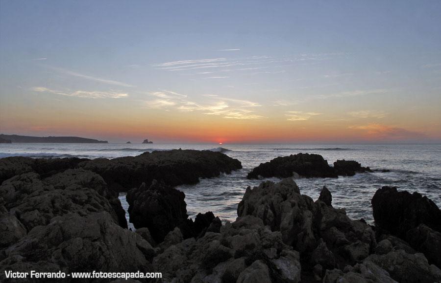 Puesta de Sol en Cantabria