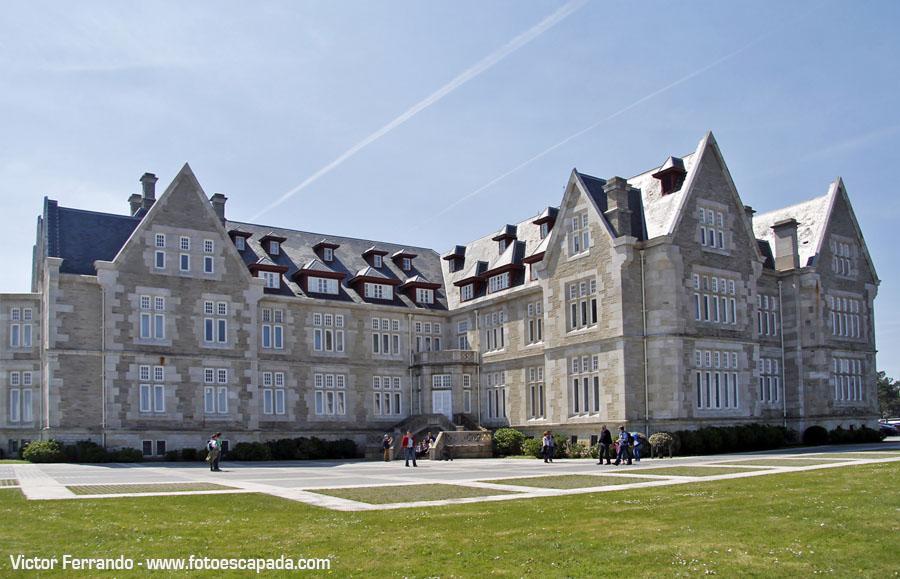 Palacio de la Magdalena en Santander
