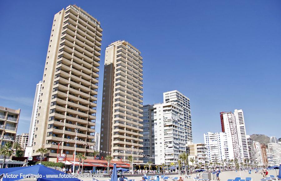 Edificios de Benidorm